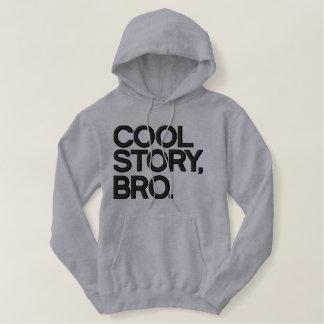 Sweat - shirt à capuche brodé par Bro frais Sweatshirt À Capuche Avec Broderie