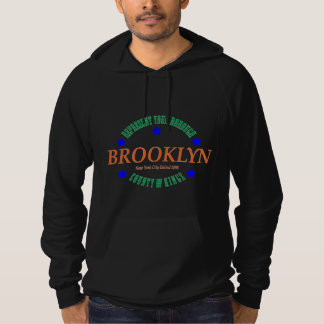 Sweat - shirt à capuche /Brooklyn de pull de noir