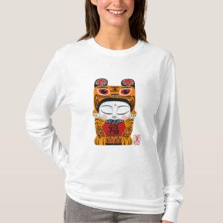 Sweat - shirt à capuche chanceux de Girlie de bébé