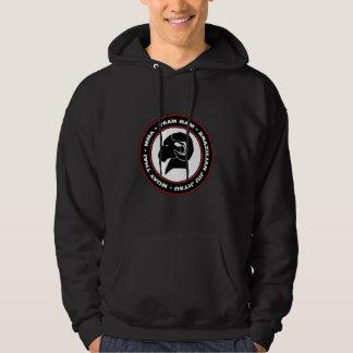 Sweat - shirt à capuche classique de RAM, noir
