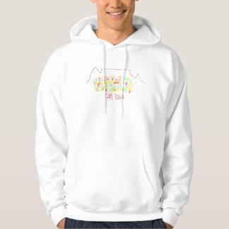 Sweat - shirt à capuche coloré de Cape Town de
