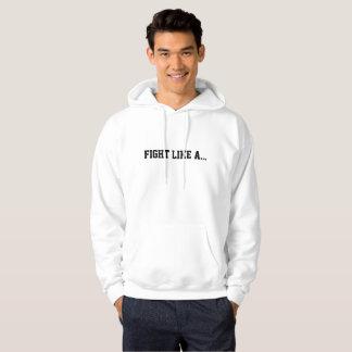 Sweat - shirt à capuche comme A des hommes