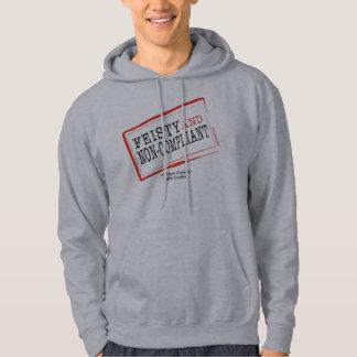 Sweat - shirt à capuche courageux
