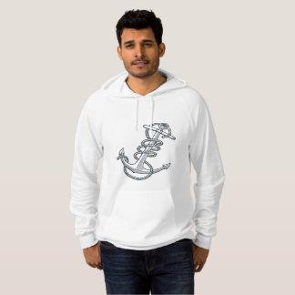 Sweat - shirt à capuche d'ancre