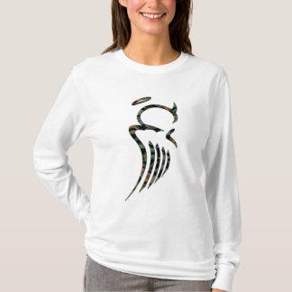 Sweat - shirt à capuche d'ange de Camo des femmes