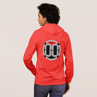 Sweat - shirt à capuche de 00 de LVL dames de logo