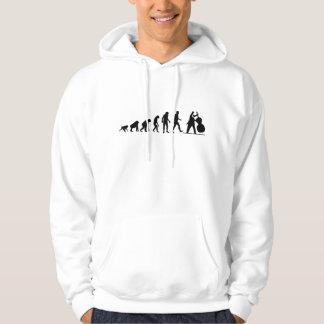 Sweat - shirt à capuche de bassiste d'évolution