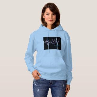 Sweat - shirt à capuche de bleu de dames de BeKind