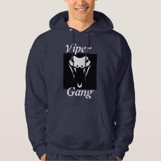 Sweat - shirt à capuche de bleu marine de BUGGERZZ