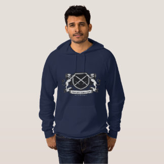 Sweat - shirt à capuche de bleu marine de VCA