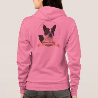 Sweat - shirt à capuche de Boston Terrier