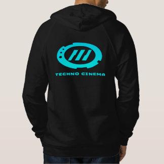 Sweat - shirt à capuche de cinéma de techno -
