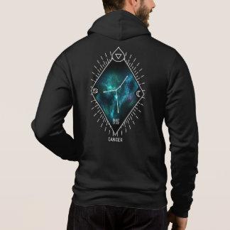 Sweat - shirt à capuche de constellation de Cancer