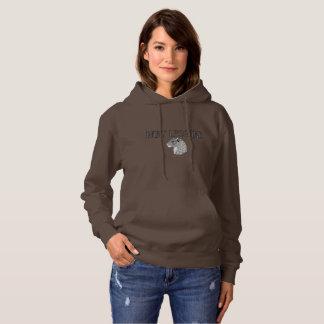 Sweat - shirt à capuche de dames de léopard de