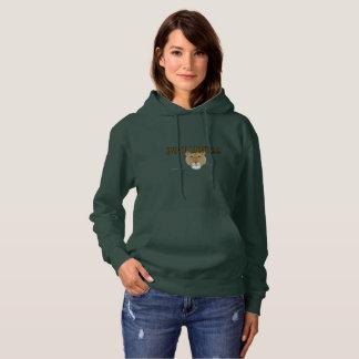 Sweat - shirt à capuche de dames de lionne de