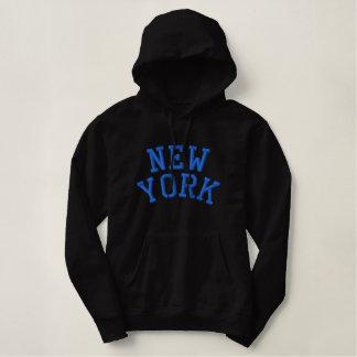 Sweat - shirt à capuche de dames de NEW YORK (noir Sweatshirt À Capuche