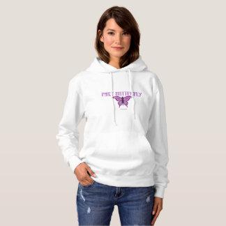 Sweat - shirt à capuche de dames de papillon de