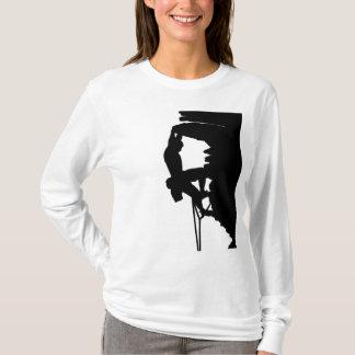 Sweat - shirt à capuche de dames d'escalade de