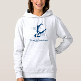 Sweat - shirt à capuche de danse du triple 7