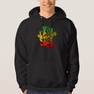 Sweat - shirt à capuche de Dubstep Rasta