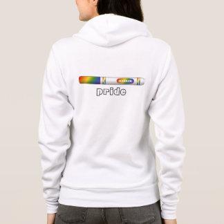Sweat - shirt à capuche de fierté de marqueur pour