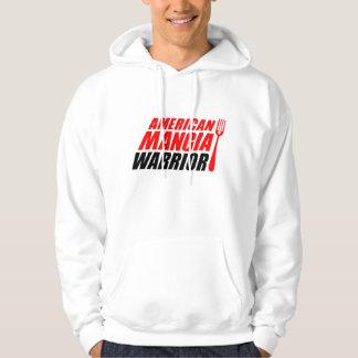 Sweat - shirt à capuche de guerrier de Mangia