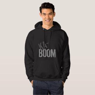 Sweat - shirt à capuche de Ka-Boom dans le noir