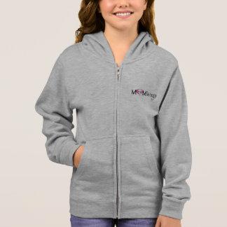 Sweat - shirt à capuche de la jeunesse de filles