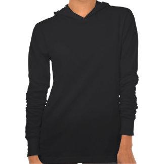 Sweat - shirt à capuche de la lune des femmes de t-shirt
