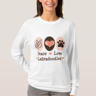 Sweat - shirt à capuche de Labradoodles d'amour de