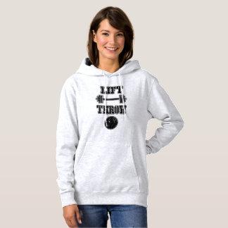 Sweat - shirt à capuche de lanceur mis par tir