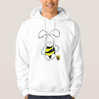 Sweat - shirt à capuche de lapin de miel