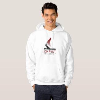 Sweat - shirt à capuche de logo de flamme