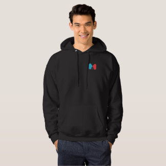 Sweat - shirt à capuche de logo du M.C.Dude123 des