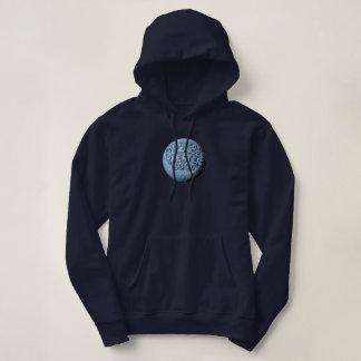 Sweat - shirt à capuche de lune de MST3K (marine)