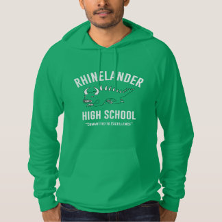Sweat - shirt à capuche de lycée de Rhinelander -