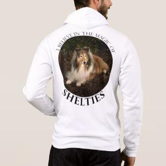 Sweat - shirt à capuche de magie de Sheltie