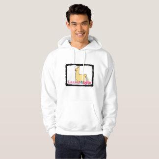 Sweat - shirt à capuche de maïs de lama de