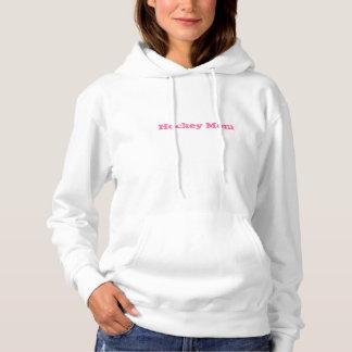 Sweat - shirt à capuche de maman d'hockey