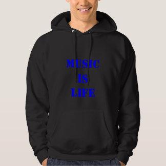 Sweat - shirt à capuche de musique sweat-shirts avec capuche