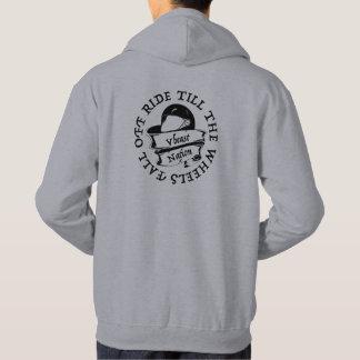 sweat - shirt à capuche de nation de vbeast