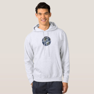 Sweat - shirt à capuche de paix du monde