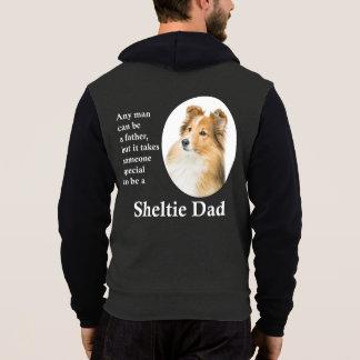 Sweat - shirt à capuche de papa de Sheltie