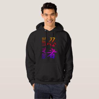 """Sweat - shirt à capuche de poche de """"Ninja"""" de la"""
