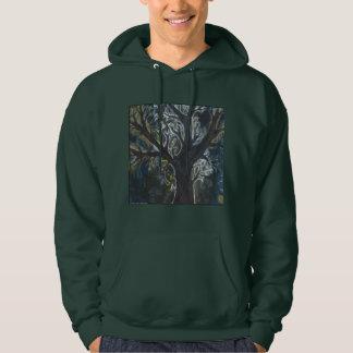 Sweat - shirt à capuche de porte d'arbre