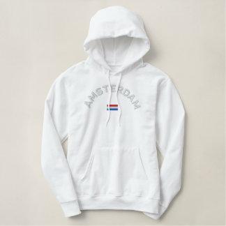 Sweat - shirt à capuche de pull d'Amsterdam -