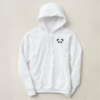 Sweat - shirt à capuche de pull de dames de Panda® Sweatshirt Brodé Avec Capuche