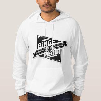Sweat - shirt à capuche de pull de médias d'excès