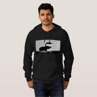 Sweat - shirt à capuche de pull d'ouatine d'art de
