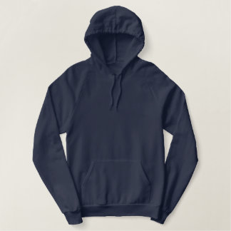 Sweat - shirt à capuche de pull d'ouatine de bleu sweats à capuche